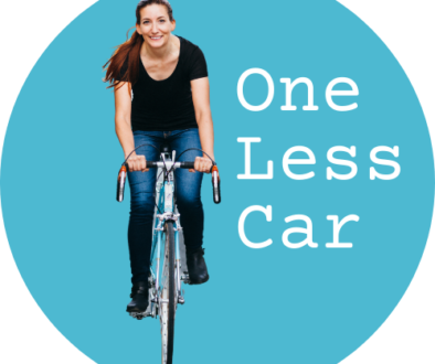 One Less Car logo